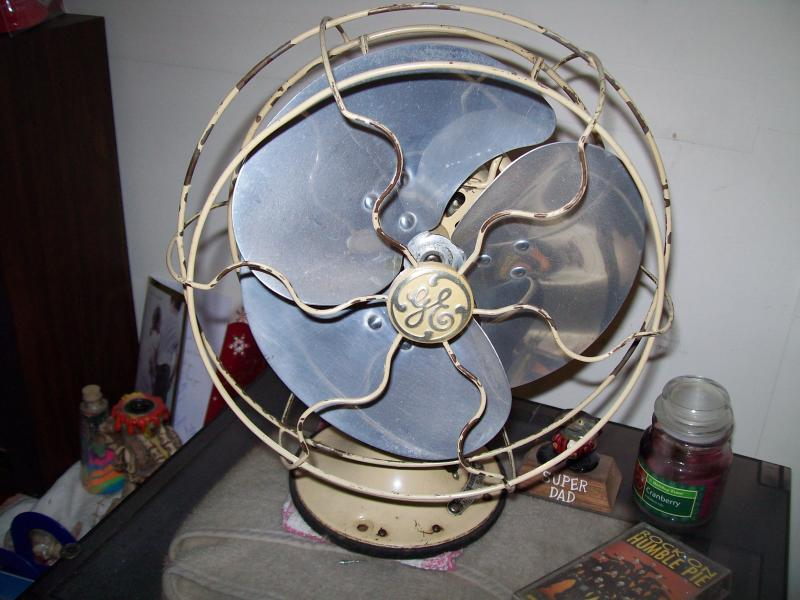 1930s GE Quiet Blade Fan
